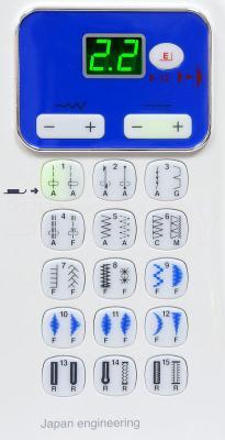Швейная машина Family Platinum Line 4700 - панель управления