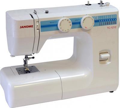Швейная машина Janome TC 1212 - общий вид