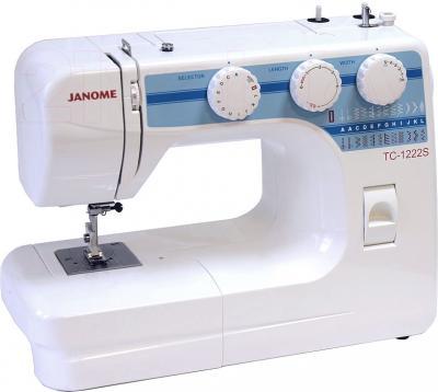 Швейная машина Janome TC 1222S - общий вид