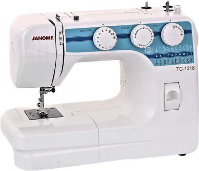 Швейная машина Janome TC 1218 - общий вид