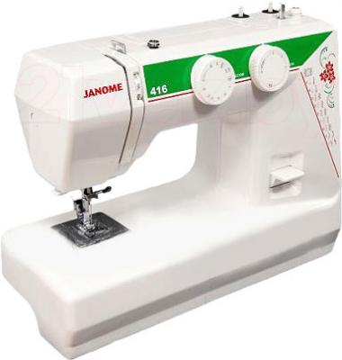 Швейная машина Janome 416 - общий вид