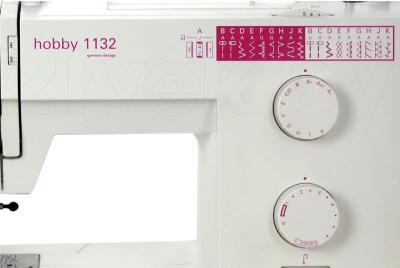 Швейная машина Pfaff Hobby 1132 - панель управления