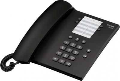 Проводной телефон Gigaset DA100 (Black) - общий вид