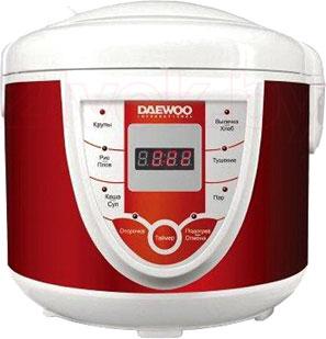 Мультиварка Daewoo DMC-935 (красный) - общий вид