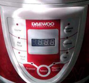 Мультиварка Daewoo DMC-935 (красный)