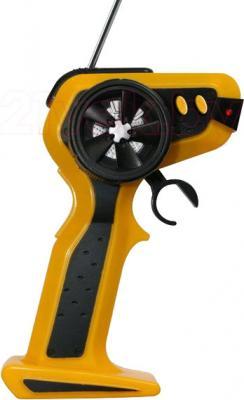 Радиоуправляемая игрушка Rui Chuang Фура Mercedes Benz Actros QY1101 (желтый) - пульт управления