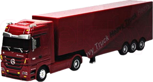 Фура Mercedes Benz Actros QY1101 (Red) 21vek.by 520000.000