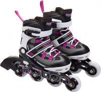 Роликовые коньки Motion Partner MP129S (S, розовый) -