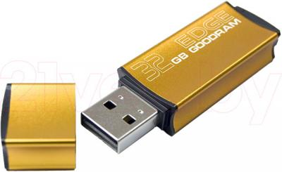 Usb flash накопитель Goodram Edge Gold 32GB (PD32GH2GREGDR9) - общий вид