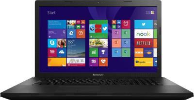 Ноутбук Lenovo G710 (59430136) - фронтальный вид