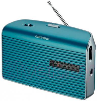 Радиоприемник Grundig Music 60 (бирюзово-серебристый) - общий вид