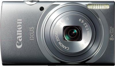 Компактный фотоаппарат Canon IXUS 150 (Gray) - вид спереди