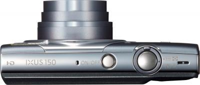 Компактный фотоаппарат Canon IXUS 150 (Gray) - вид сверху