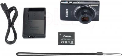 Компактный фотоаппарат Canon IXUS 155 (Black) - комплектация