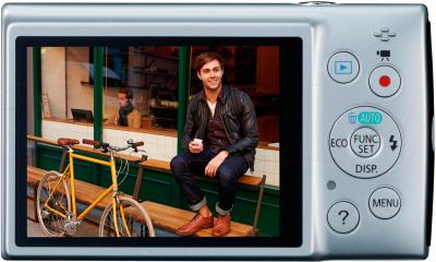 Компактный фотоаппарат Canon IXUS 155 (Silver) - вид сзади