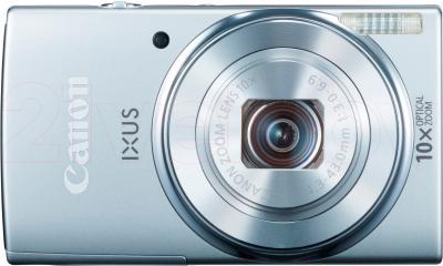 Компактный фотоаппарат Canon IXUS 155 (Silver) - вид спереди