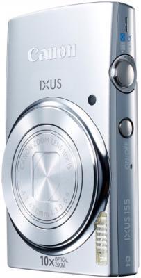 Компактный фотоаппарат Canon IXUS 155 (Silver) - общий вид