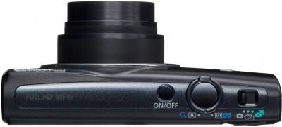 Компактный фотоаппарат Canon IXUS 265 HS (Black) - вид сверху