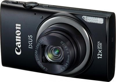 Компактный фотоаппарат Canon IXUS 265 HS (Black) - общий вид