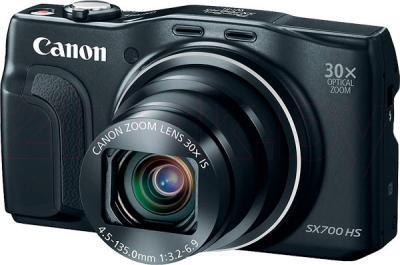 Компактный фотоаппарат Canon Powershot SX700 HS (Black) - общий вид