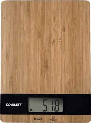 Кухонные весы Scarlett SC-KS57P01 (Bamboo Black) - общий вид