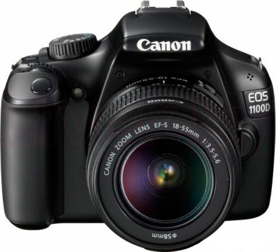 Зеркальный фотоаппарат Canon EOS 1100D Kit 18-55mm IS II - общий вид