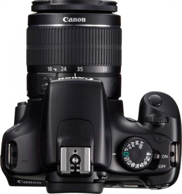 Зеркальный фотоаппарат Canon EOS 1100D Kit 18-55mm IS II - вид сверху