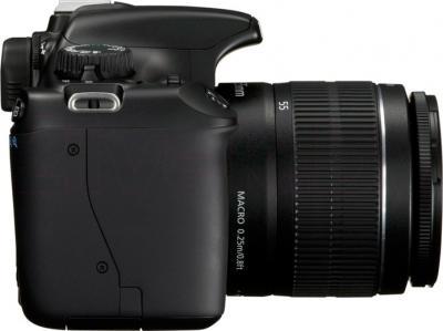 Зеркальный фотоаппарат Canon EOS 1100D Kit 18-55mm IS II - вид сбоку
