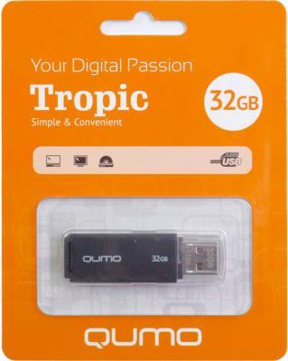 Usb flash накопитель Qumo Tropic 32GB (Black) - общий вид