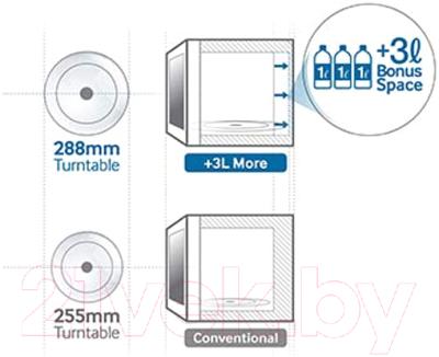 Микроволновая печь Samsung GE83ARW/BW - презентационное фото 1