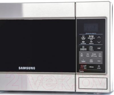 Микроволновая печь Samsung GE83MRTS/BW - панель