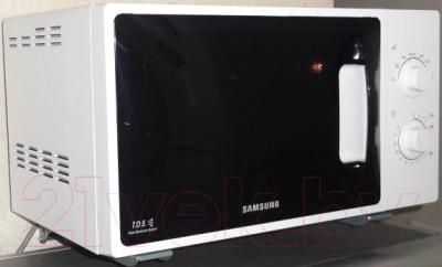 Микроволновая печь Samsung ME81ARW/BW - вид сбоку