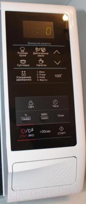 Микроволновая печь Samsung ME83KRW-2/BW - панель