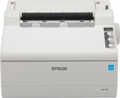 Принтер Epson LQ-50 (C11CB12031) - общий вид