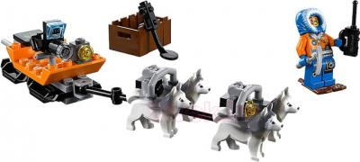Конструктор Lego City Арктический вертолёт (60034) - упряжка