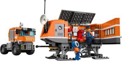 Конструктор Lego City Передвижная арктическая станция (60035) - фургон с лабораторией