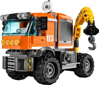 Конструктор Lego City Передвижная арктическая станция (60035) - грузовик