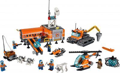 Конструктор Lego City Арктическая база (60036) - общий вид