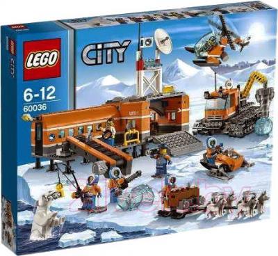 Конструктор Lego City Арктическая база (60036) - упаковка