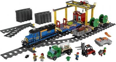 Конструктор Lego City Грузовой поезд (60052) - общий вид