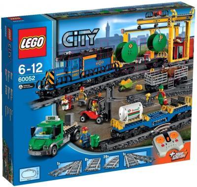 Конструктор Lego City Грузовой поезд (60052) - упаковка