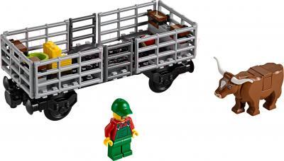 Конструктор Lego City Грузовой поезд (60052) - минифигурки