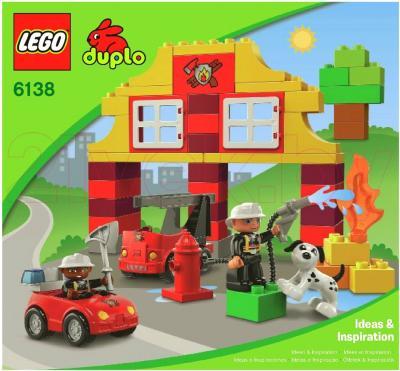 Конструктор Lego Duplo Мой первый Пожарный участок (6138) - общий вид
