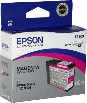 Картридж Epson C13T580300 - общий вид