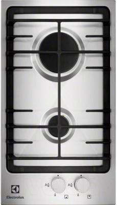 Газовая варочная панель Electrolux EGG3322NOX - общий вид