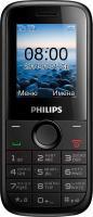 Мобильный телефон Philips E120 (черный) -