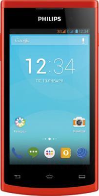 Смартфон Philips S308 (красный) - общий вид