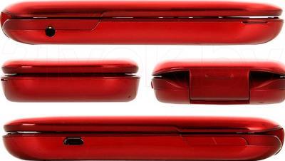 Мобильный телефон Philips E320 (Red) - обзор панелей