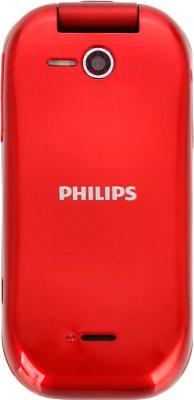 Мобильный телефон Philips E320 (Red) - вид сзади