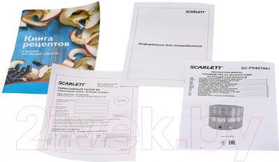 Сушка для овощей и фруктов Scarlett SC-FD421001 (белый)